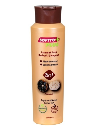 Softto Plus 2in1 Sarımsak Özlü Şampuan Renksiz